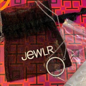 Jewelry - NEW Jewlr Circle of Light Halo Necklace